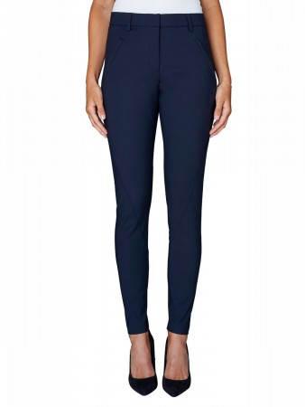 Fiveunits Navy Jeggin Angelie 238 Pants
