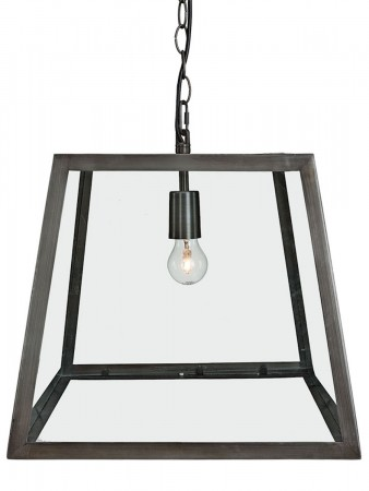 Artwood Antique Iron City Ceiling Lamp Large - W:40 D:40 H:36