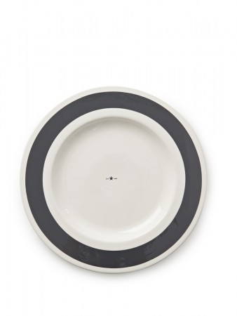 Lexington Gray Earthenware Platter