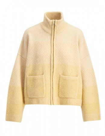 Holzweiler Tine Knit Cardigan Yellow Faded