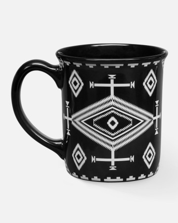 Pendleton Black - Los Ojos Ceramic Mug 532 Ml