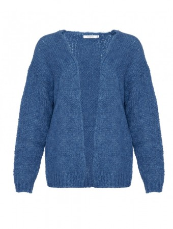 Noella Kala Knit Cardigan - Denim Blue