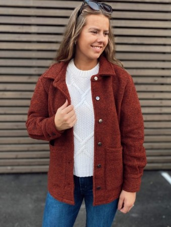 Noella Burnt Orange Viksa Jacket - Burnt Orange