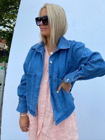 Noella Viksa Jacket Short, Denim