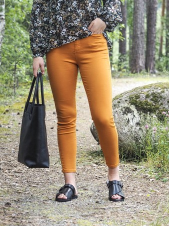 Vila Golden Oak Viamy Hw 5p 7/8 Pant