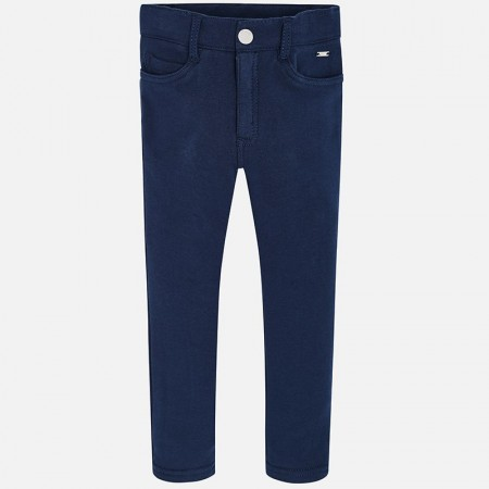 Mayoral Navy Fleece Basic Trousers