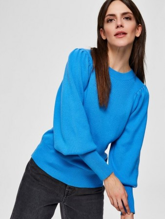Selected Femme Campanula Slftine Ls Knit O-neck B