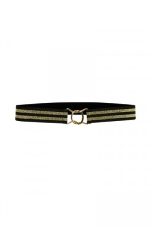 Culture Black/gold Chic Belt