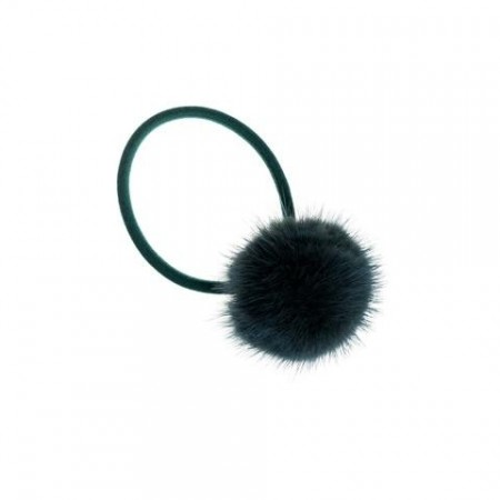 Dark Mallard Green Mink Hair Pom