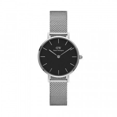 Daniel Wellington Black/silver Classic Petite Sterling 28mm
