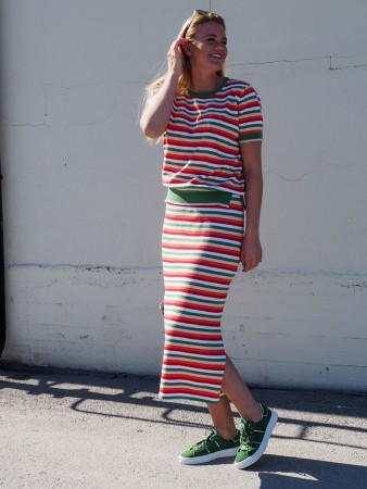 Rah 15 Coral Stripes Olivia
