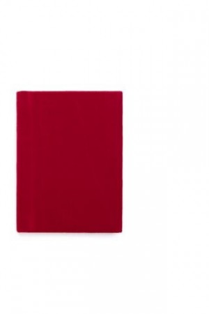 Dark Red Notebook A6 Velur