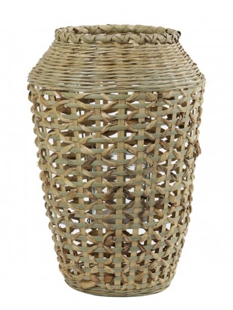 Light And Living Hurricane ø:32*48 Cm Sabaya Bamboo Natural