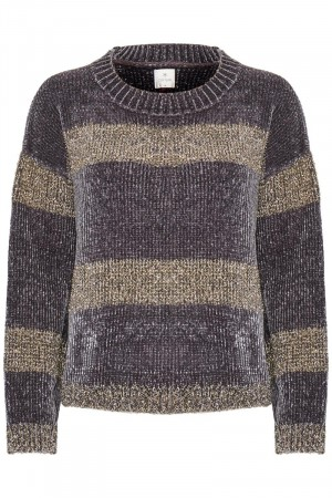 Culture Dark Grey Tuki Jumper