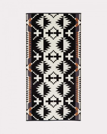 Pendleton - Black/white Spider Rock Bath Towel
