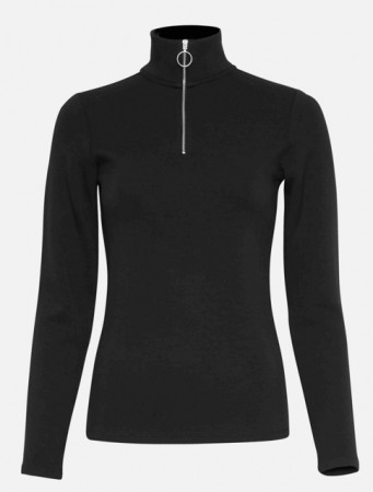 Msch Black Pacie Ls Top