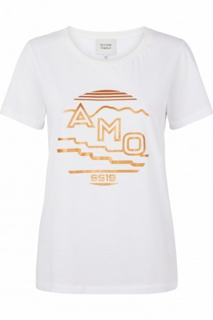 Second Female White Amo Tee