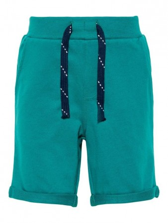 Name It Teal Green Nmmvermo Swe Long Shorts Unb H
