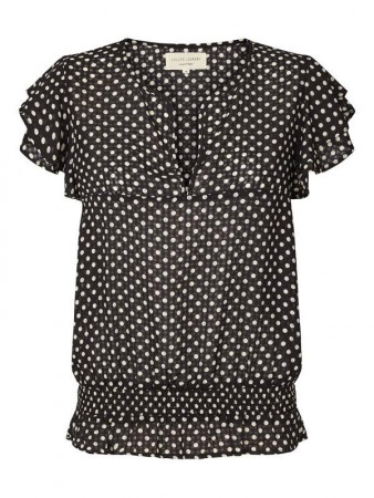 Lollys Laundry 76 Dot Print Paola Top