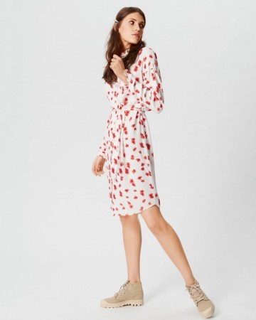 Msch Vanilla Ice Flower Mosa Genni Shirt Dress Aop