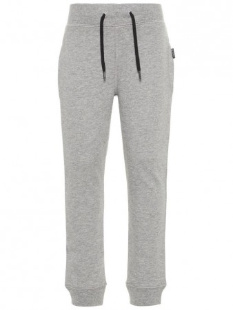 Name It Grey Melange Nkmsweat Pant Bru Noos