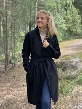 Ane Mone Black Coat