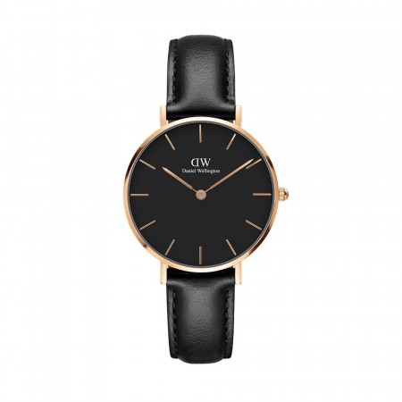 Daniel Wellington Rose Gold Classic Sheffeld Black