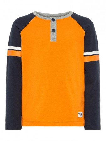 Name It Sun Orange Nmmtaxson Ls Top