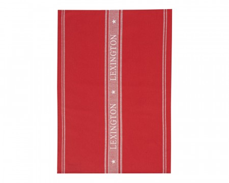 Lexington Red/white Star Kitchen Towel 50x70