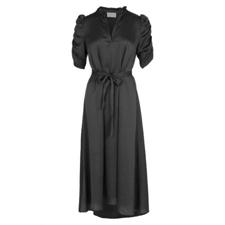 Neo Noir Black Epoke Dress