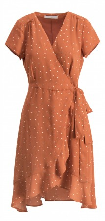 Camilla Pihl Terracotta Dots Palm Dress