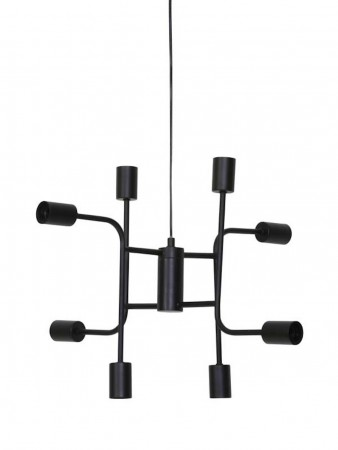 Light And Living Hanging Lamp 8l ø:60*50 Cm Marielle Black