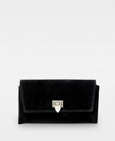 Decadent Suede Black Nora-406