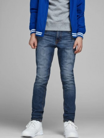 Jack & Jones Blue Denim Bukser Jjiliam Jjoriginal Am 871 Jr Noos