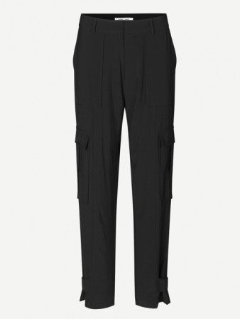 Samsøe Samsøe Black Citrine Trousers