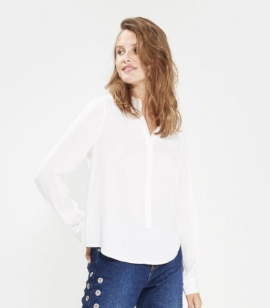 Msch Cloud White Luella Polysilk Shirt
