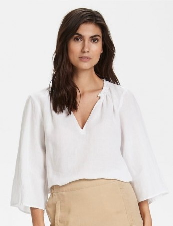 Part Two Bright White Blouse Caritapw Bl