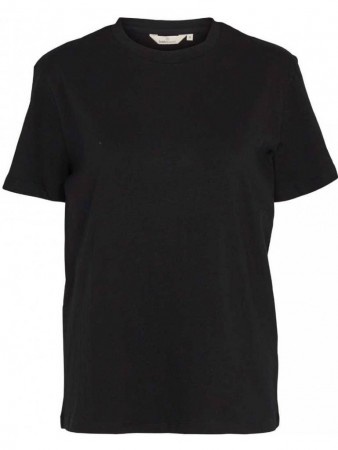 Basic Apparel 001 Black Rikke Tee Organic