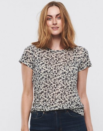 Part Two Flower Print, Navy Kassim Ts