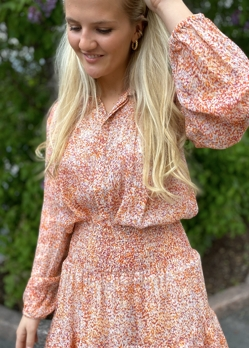 Second Female Apricot Brandy Floral Ls Shirt
