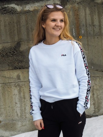 Fila Bright White Women Tivka Crew Sweat