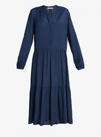 Msch Midnight Navy Carol Miram Dress