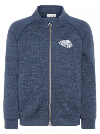 Name It Dress Blues Nmmwesso Wool Sweat Ls Card