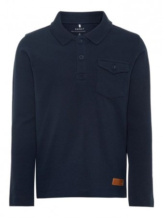 Name It Dark Sapphire Nmmrafle Ls Polo