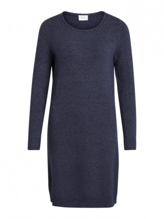 Vila Total Eclipse Viril L/s Knit Dress - Noos