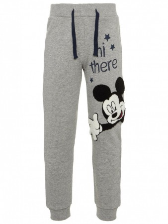 Name It Grey Melange Nmmmickey Oak Swe Pants Unb Wdi