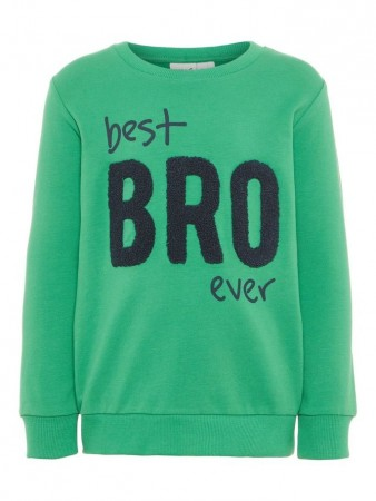 Name It Medium Green Nmmdabro Sweat Unb