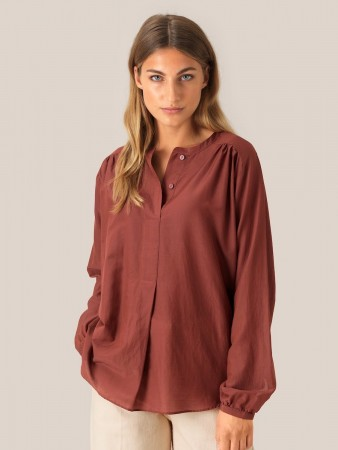 Second Female Henna Auso Ls Blouse