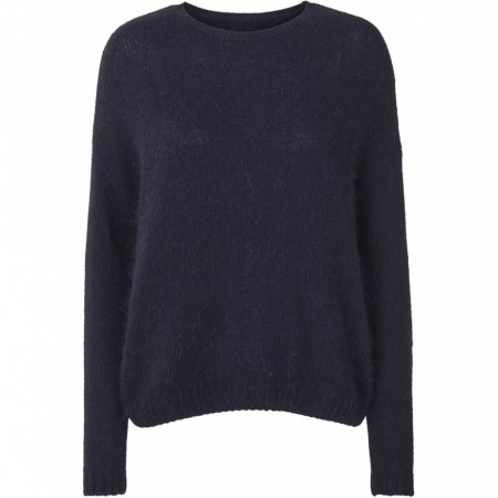 Lollys Laundry 23 Dark Blue Nina Jumper