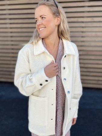 Noella Viksa Jacket Wool - White